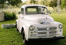 .vintage vehicles.  / by Maddie Rogers