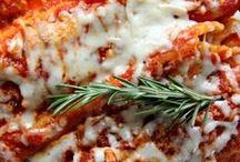 "Man Food- Mama Mia! / Mama's best recipes, nothing says ""I Love You"" like a pan of lasagna! / by Joy Colleen Tilton"