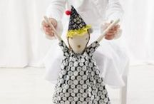 DOLLS / I love making dolls. Here's a collection of patterns, new and old, for making amazing dolls.  / by Abby Glassenberg