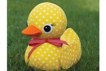 NON-RUBBER DUCKS / Rubber ducks don't have to be made from rubber.  / by Abby Glassenberg