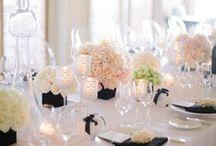 pretty table settings / by Sofia De Luca