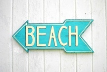 Summer love / summer time  -  I'm dreaming of a beach vacation - sand, sea and sun  - planning one for next summer / by Linda Siebach