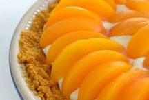 "Just Peachy /  How ""peachy"" they make cake, cobbler, pie, tarts or drinks....  / by Ronda Tatum"