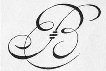 MONOGRAM IT / Monogram-spiration / by Amanda Pearl