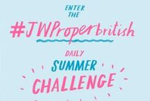 "#JWPROPERBRITISH PHOTO CHALLENGE / Enter #JWProperBritish Photo Challenge! For 14 days we'll post a challenge inspired by British culture.  1 Daily Winner will receive a ""Proper British Summer Prize Pack"". 1 Grand Prize Winner will receive a £200 gift card.    RULES: Post a photo or instavid that interprets that challenge on Instagram or Pinterest.  Add #jwproperbritish & follow @jackwillsuk. UK, HK, USA only. Ends 11:59 PM GMT 22 May 2014.   Instagrammers @tschang and @zobolondon (follow!!) will be judging the daily submissions. / by Jack Wills"