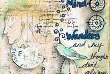 Altered Art : Art Journaling : Mixed Media / by Joan Jones
