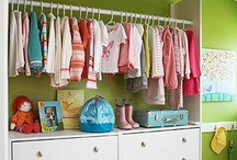 Organized Kids / Kids need closets that are organized too! Here is my collection of ideas on how to get kids closets organized.