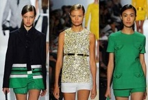 Trends we love:  Green / Green is the new 'It' color.  This lovely shade will wear well throughout the year. / by Sew It All
