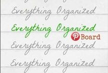 Everything Organized / All things organized here! This board only for a group of fabulous organizing bloggers -- it is a closed group, sorry. Thank you! / by Becky_ Organizing Made Fun™