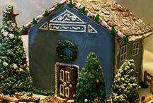 Gingerbread Cottages / by Jenn Tavoletti