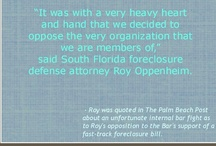 Foreclosure News / by Oppenheim Law