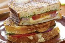 Sandwiches, Wraps, Veggie Burgers / by Allie Wright