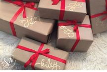 Gift Wrap Inspiration / by Patti Campoverde