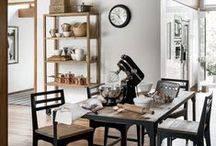 Home Ideas - General Store Collection / Showcasing industrial-inspired furniture design, reclaimed wood and contemporary kitchenware, the General Store collection celebrates relaxed, simple living / by Sainsbury's