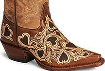 Accessories: Cowgirl Boots & Some Shoes / by Shawna Schroeder