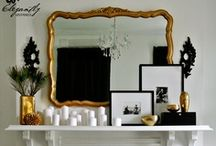 I Heart Mantels / So many decorating ideas, only one mantel!  Change it up often! / by Eclectically Vintage