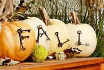 I Heart Fall  / The leaves are crunching beneath my feet - hope I don't have to rake them! / by Eclectically Vintage