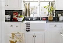 I Heart Kitchens / The heart of the home is the kitchen - let's dream together! / by Eclectically Vintage