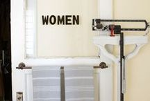 I Heart Bathrooms / by Eclectically Vintage