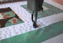 machine quilting / by Patti Rusk