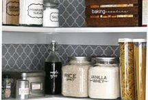 Organization | Pantry / Pantry organization inspiration and creative DIY ideas.  / by Lindsey Schwimmer
