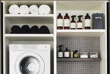 Organization | Laundry Room / Advice and ideas to help organize the laundry room.   / by Lindsey Schwimmer