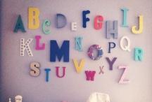 alphabet wall / by Jodi McKee
