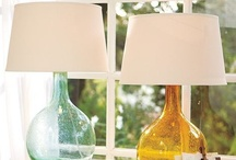 Home Accents / Ideas for lighting, wall coverings, artwork, window treatments, and accent furniture for my home / by Tasha A