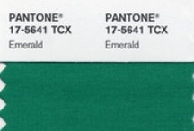 emerald city / 2013 pantone color of the year / by Jodi McKee