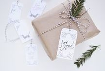 Wrapping / Wrap your gifts in a cute way. / by Rebeca Aguilar