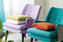 Have A Seat / Sofas, Chairs and Ottomans / by Tasha A