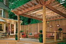 Outdoor patio / by Stacy White