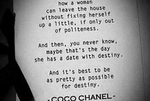 Chanel / All things Coco Chanel! / by Starr Howard