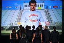 """""""the show must go on... all over the place... or something"""" Finn, Glee❤️ / by Jessica Zuchowski"""