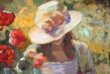 ART - Women in Paintings, Illustrations & Doodles / by Carole Henares