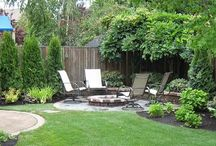Small yard / Landscaping and gardening for a small yard / by C.J. Rand