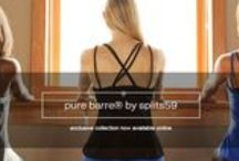 Life is Better at the Barre / We're raising the barre on your workout wardrobe! Introducing the exclusive Pure Barre® by Splits59 Fall 2014 collection. Flip through the look book: http://bit.ly/WgF7ms / by Pure Barre