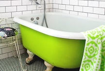 Tubs / Unique and Colorful Tubs for the bathroom / by The House of Smiths