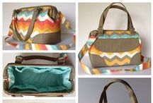 Sewing bags & purses / by Melinda Greer from The6greers.com