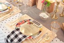party decor / holidays / party decor ideas for future party-planning / by Kirsten Johnson