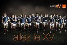 Orange et le rugby  / Exclusivités . Vos joueurs préférés. Le Rugby avec Orange : @avecleXV , ensemble avec le XV / by Orange France