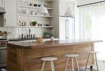 kitchen / ideas for my dream kitchen  / by Kirsten Johnson