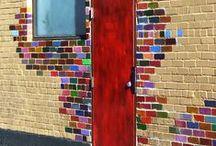 cool! / rand stuff that I love. doors, stairs, walls, art, etc / by Kirsten Johnson