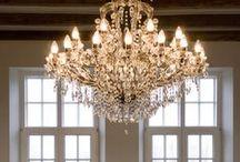lighting / chandeliers / bling / lightning for the house. Chandelier inspiration, fun, creative lighting! / by Kirsten Johnson