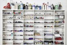 Craftroom & Studio Organization / by Live Simply by Annie