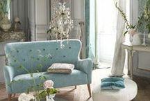 For the Home-Living Room / by Julie L. Light ♥ FabulousFindsStudio