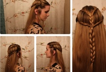 hair styles and ideas / by Emmy Andersson
