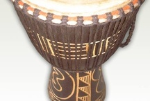 African Drums / Drums and Accessories, for more visit AfrikBoutik.com / by Afrik Boutik