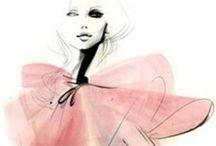 Art: Fashion Illustrations / by Melissa Thurmond