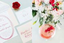 Red Wedding Inspiration / Red Wedding Inspiration / by Rachel May